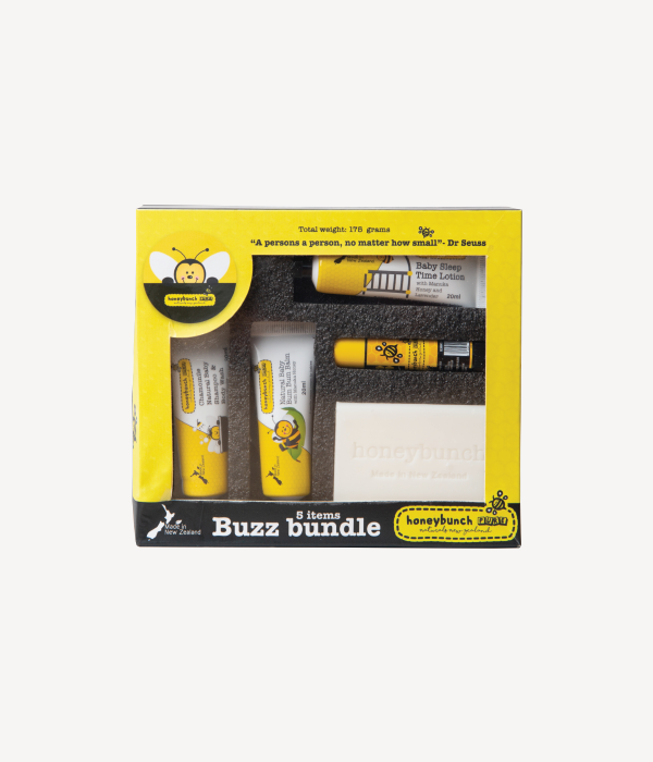 Buzz bundle travel kit Honey bunch naturals