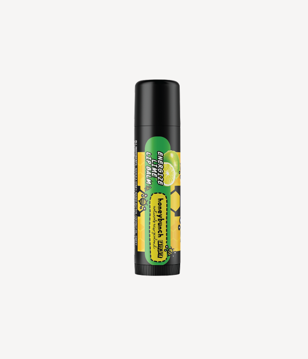 Honey bunch naturals manuka honey lip balms energize lime