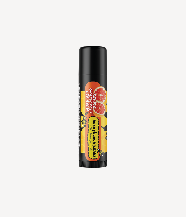 Honey bunch naturals manuka honey lip balms revive grapefruit