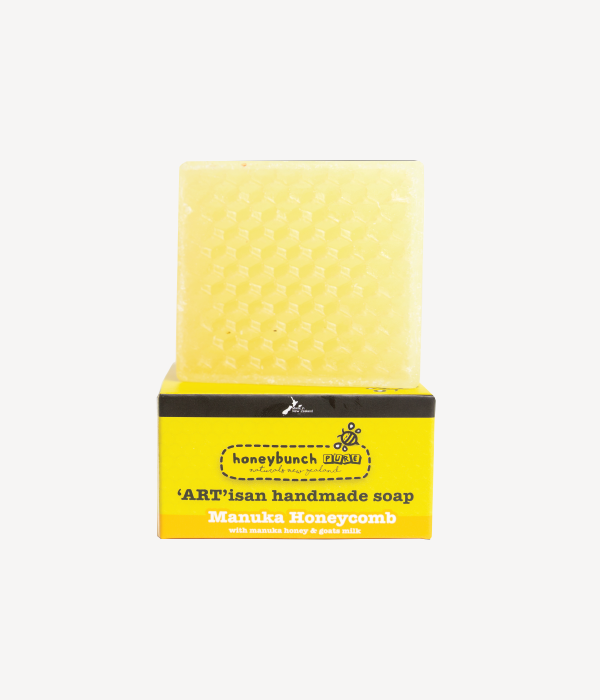Artisan soap manuka honey with manuka honeycomb honey bunch naturals